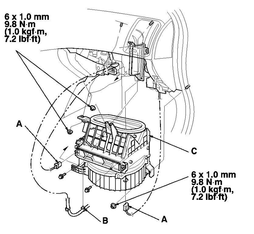 service manual  how to determined evap sensor fualt 1994