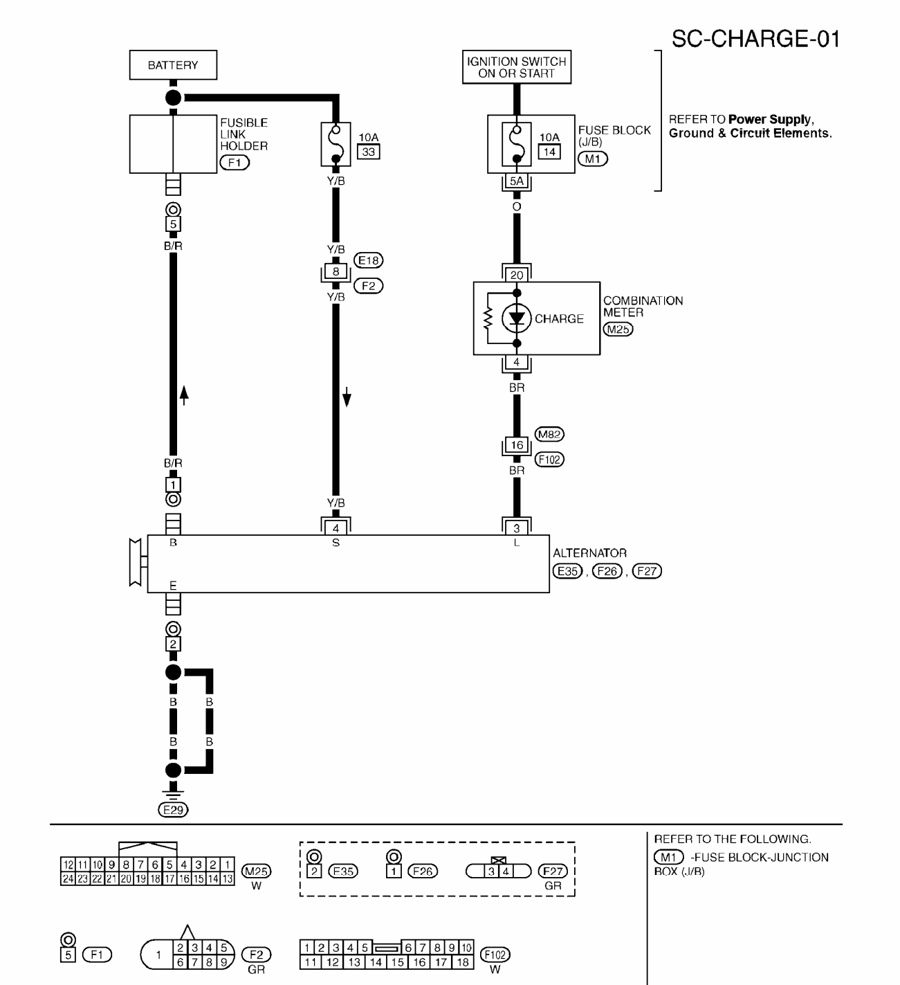 John Deere Starter Relay Wiring Diagram Manual Of X300 Harness Solenoid 09 Morano Has A Alternator Connector With 3 Pins 5 4