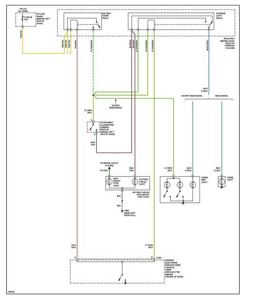 Do You Have A Wiring Diagram For A 1998 Mazda B2500 W  2 5