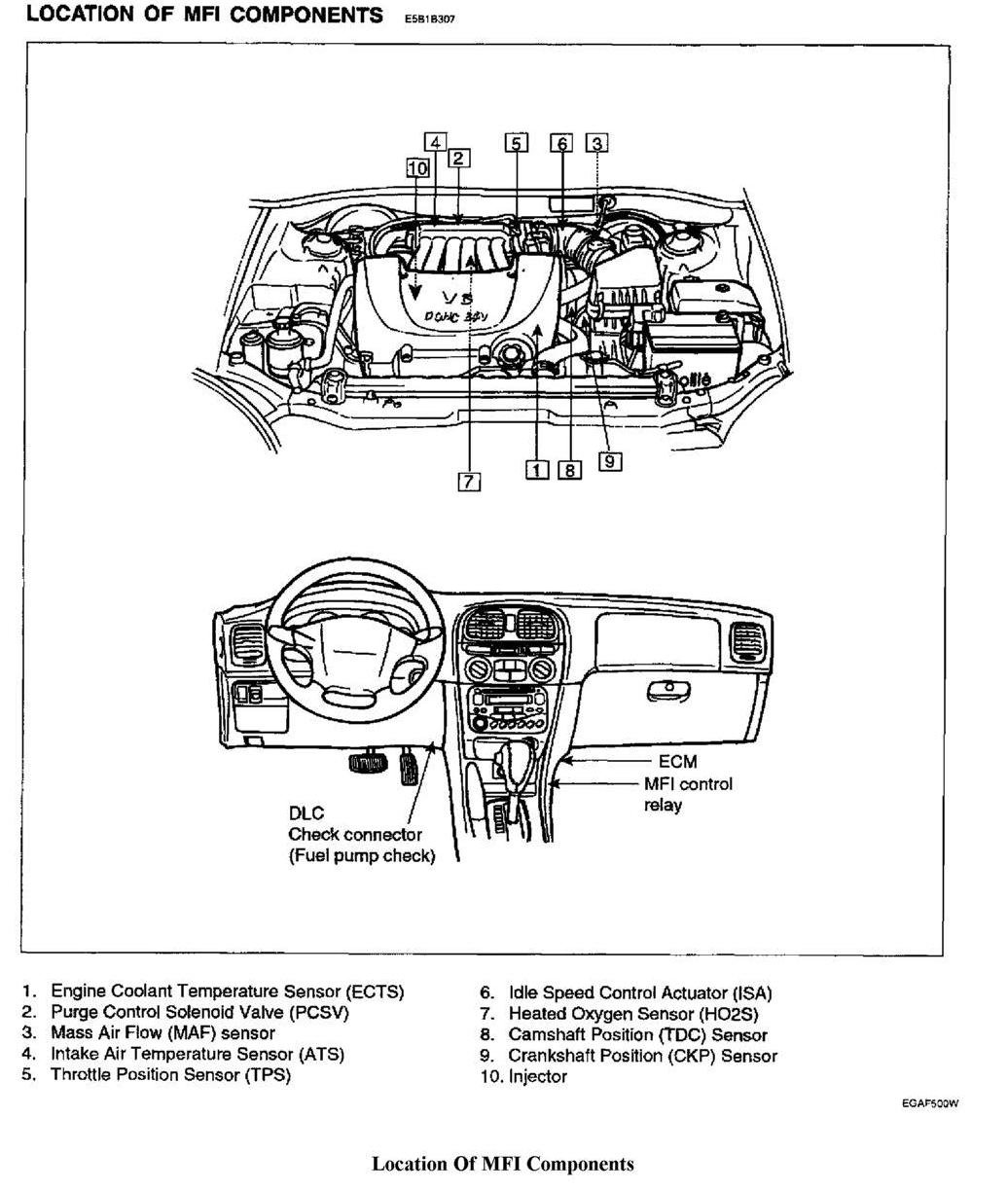 2007 hyundai sonata engine diagram