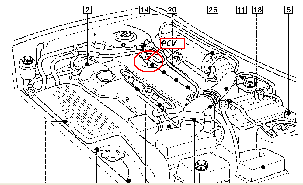mazda 323 smoke coming from the exhaust seals piston rings