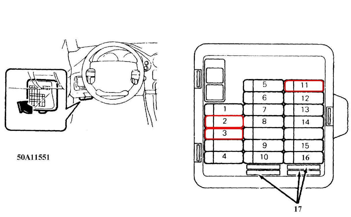 mitsubishi gto fuse box diagram