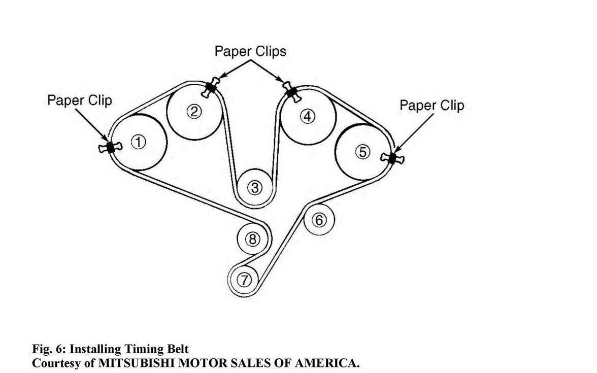 mitsubishi pajero timing belt tensioner