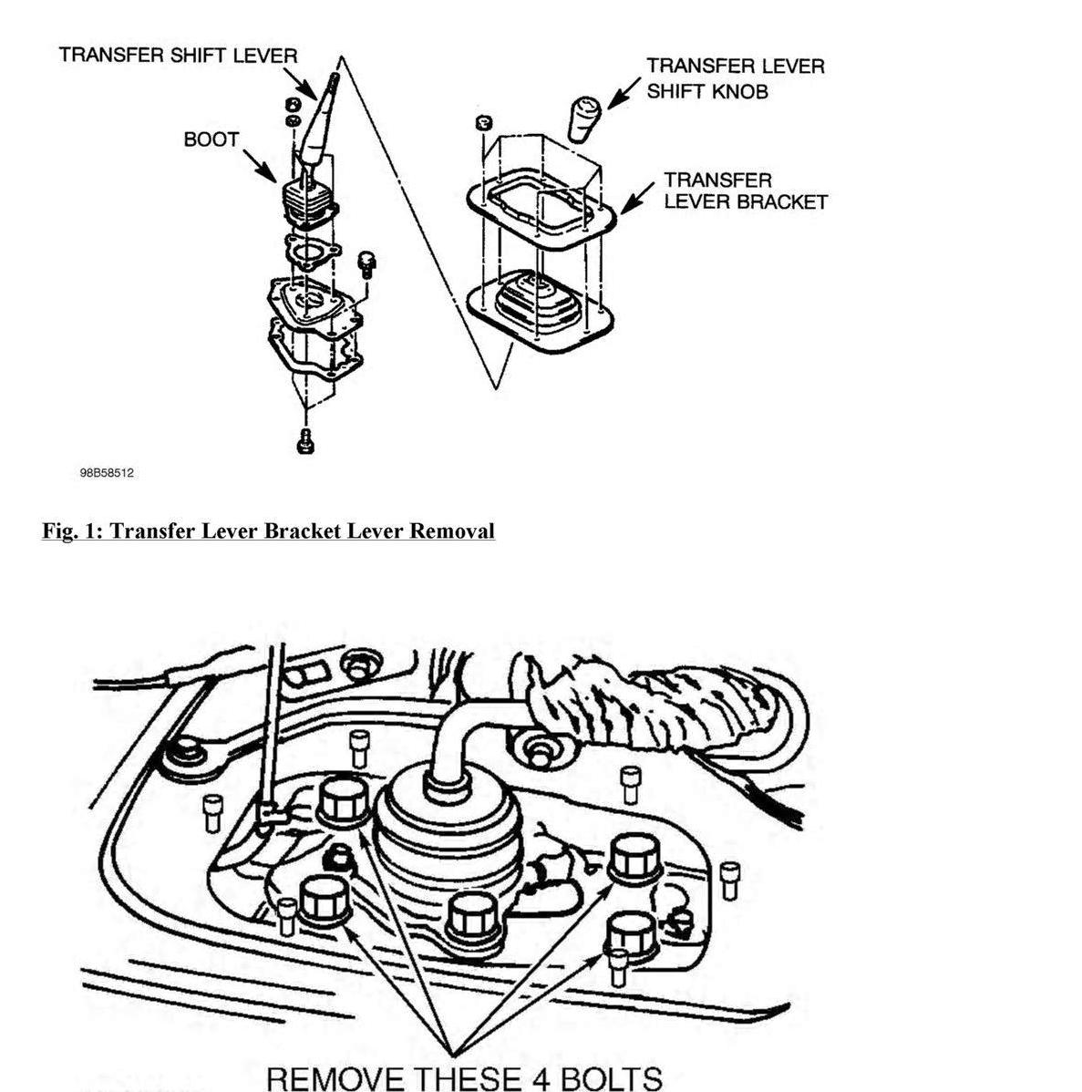 service manual  1999 mitsubishi pajero gear shift console