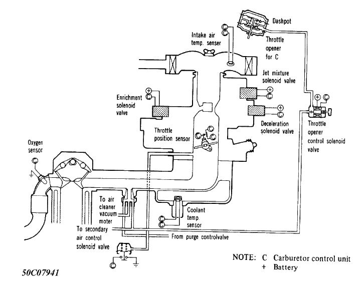 1985 2 0 Mitsubishi Truck Carburetor Idles Too High
