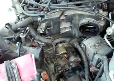 1999 Nissan Maxima Starter Removal