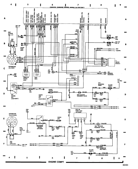 1988 jeep comanche ignition wiring diagram  jeep  auto