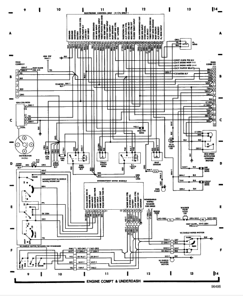 wiring diagram for 1986 jeep comanche  jeep  auto wiring