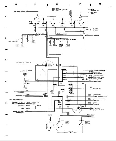 comanche: 4.0l..tdc on the camshaft..engine runs like a ... jeep comanche wiring schematic #15