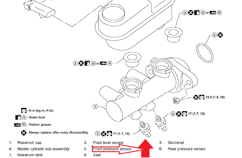 dear sirs  re  nissan partfinder 2006 2 5 le it at  yd25