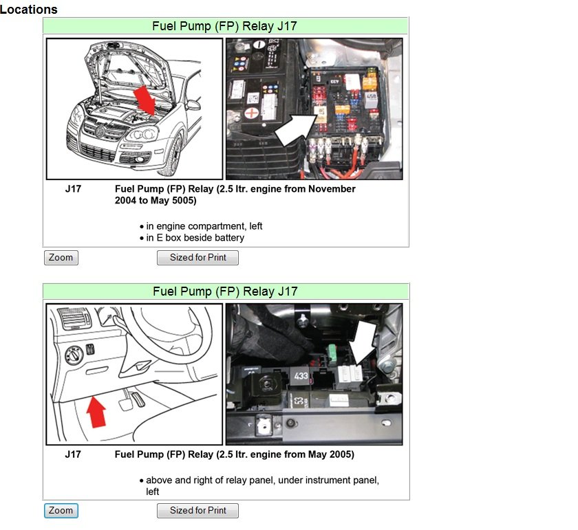vw jetta ac relay location further 2006
