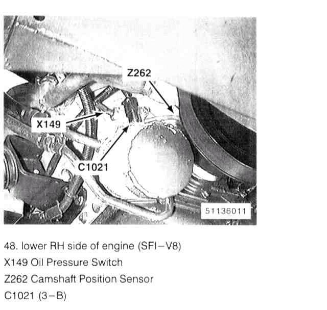96 Land Rover Discovery Have Codes P0340 Camshaft Position