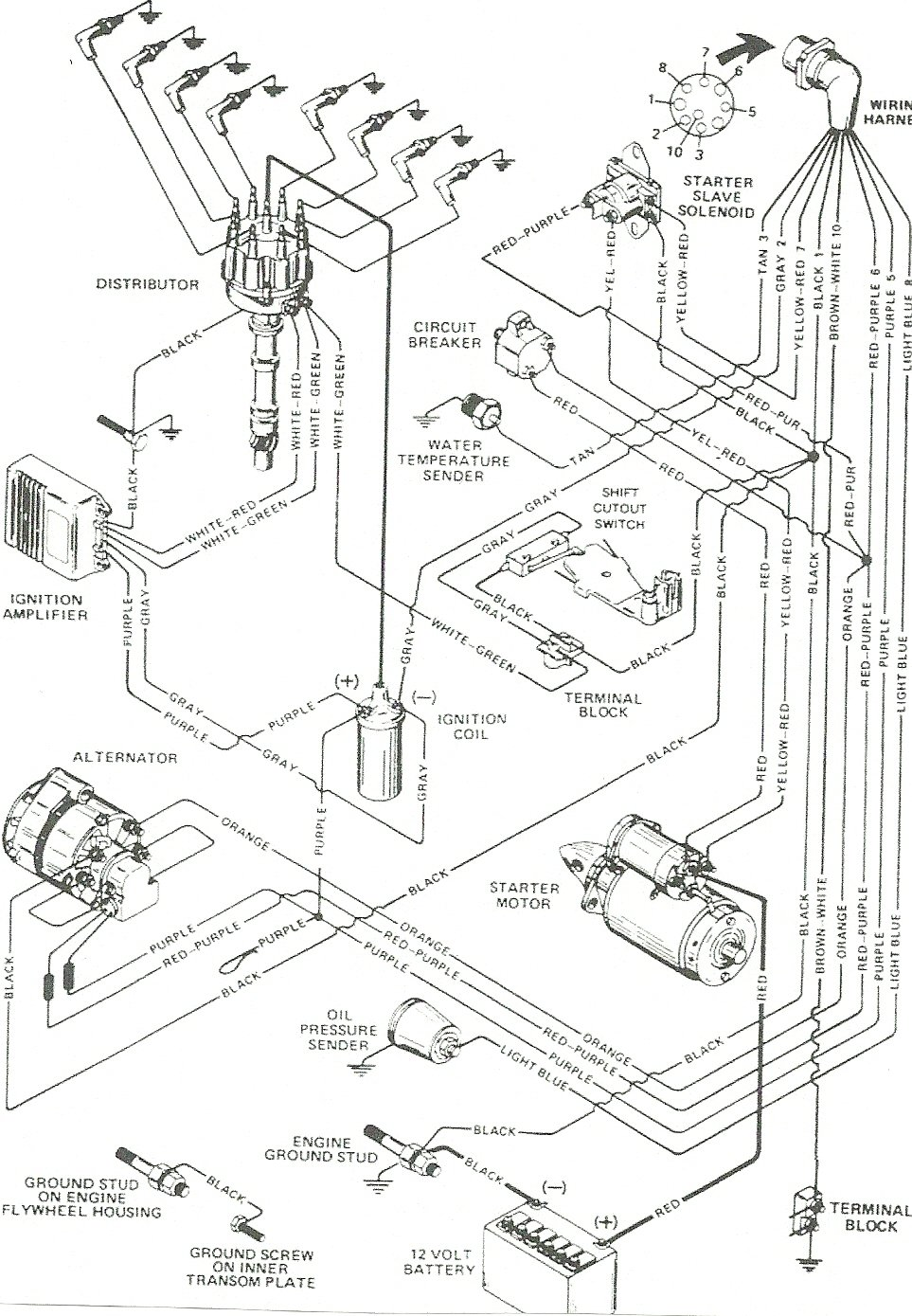 4 3 marine engine diagram get free image about wiring diagram