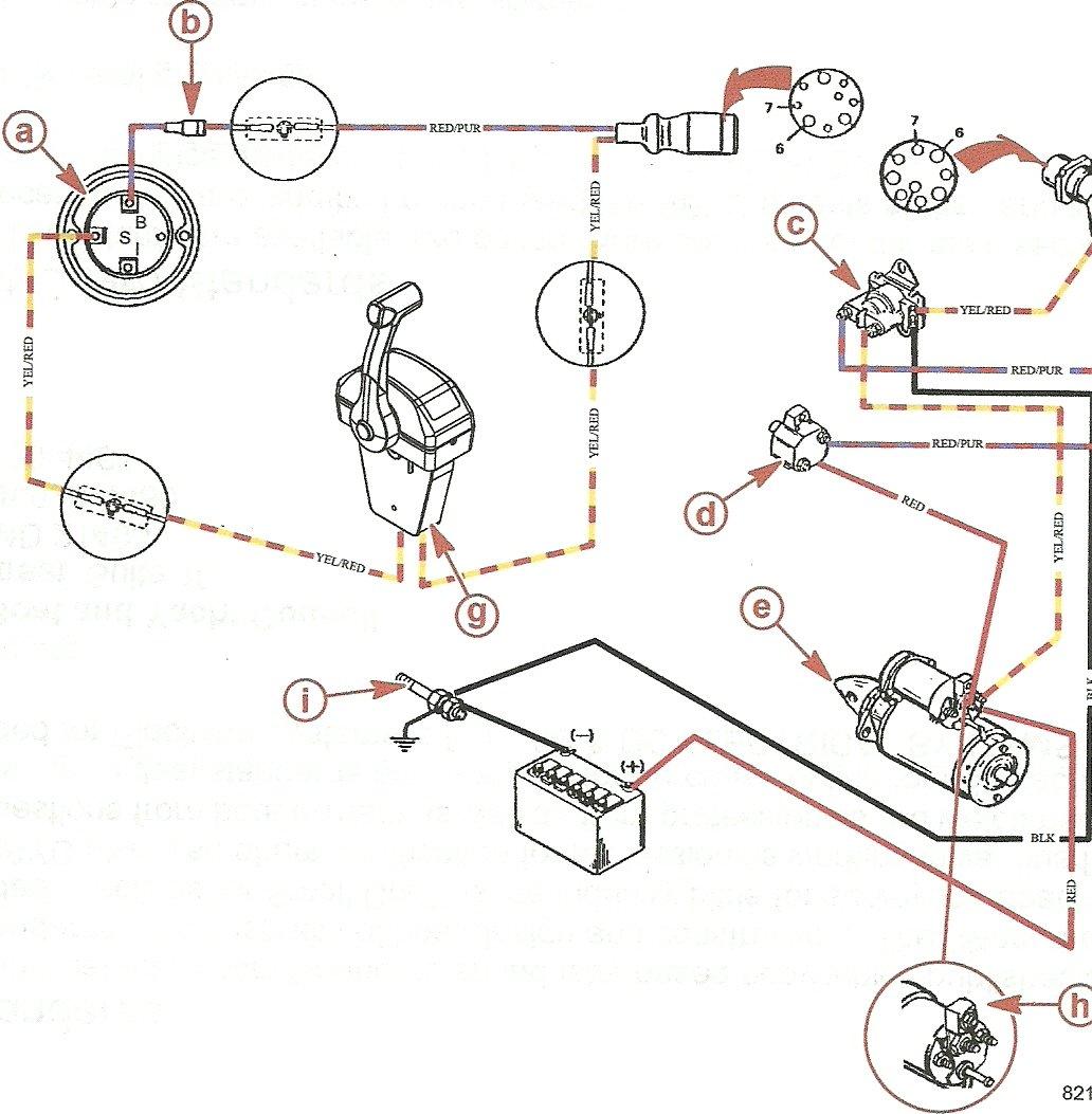 marine engine schematic starter easy wiring diagrams u2022 rh art isere com boat starter motor wiring diagram boat starter solenoid wiring diagram