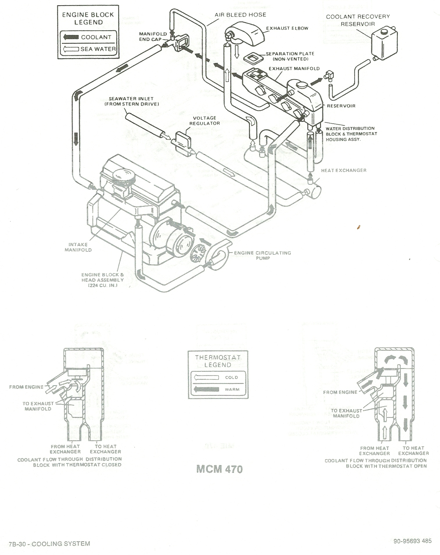 3 7 mercruiser heat exchanger diagram