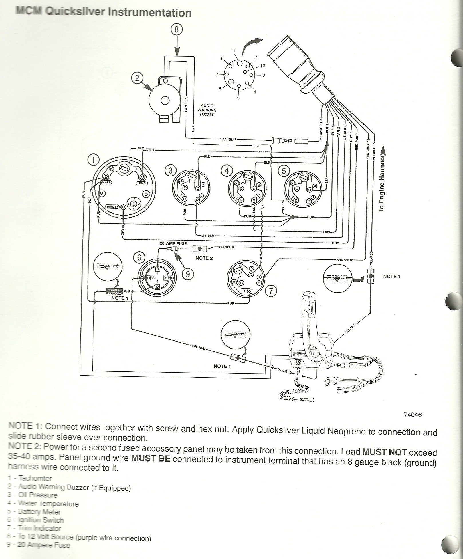 Wiring Diagrams Craft Lancer 20  Not Getting Ignition Power There Is A Purple Wire On The
