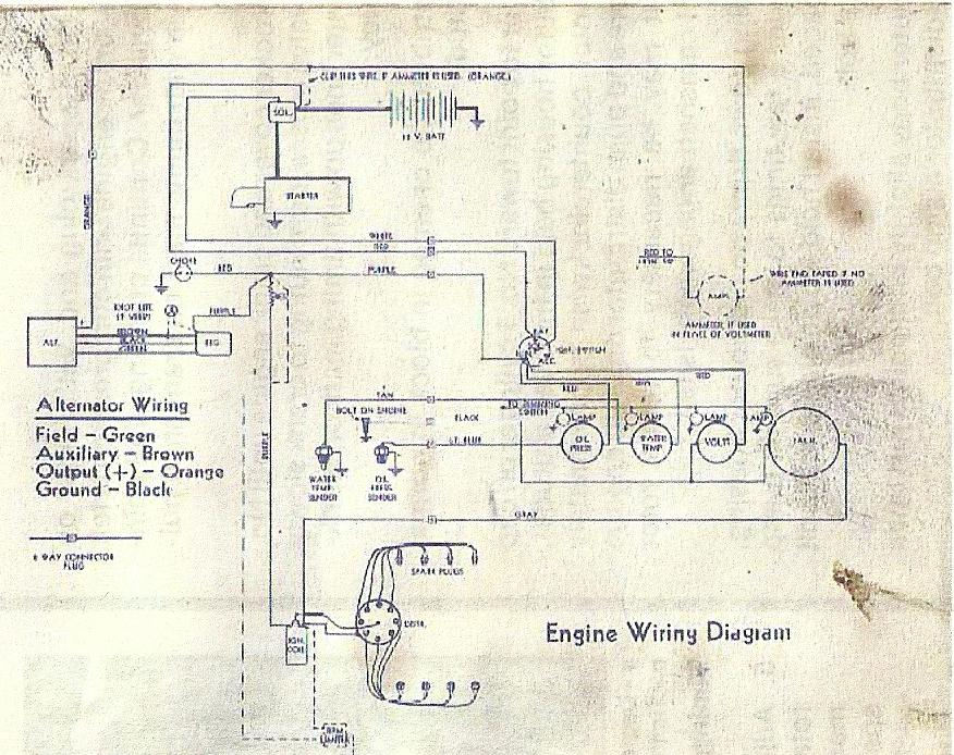 Replacement Parts For A 1972 Waukesha Marine Engine Wle