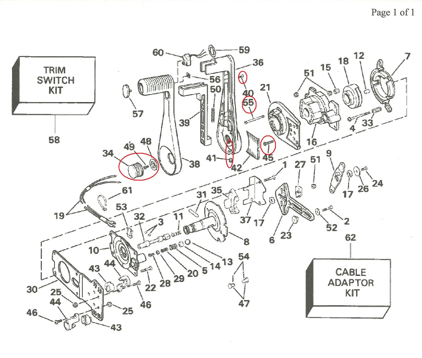 1978 Mercruiser Wiring Diagram Free For You Mercury Outboard Control Box Get Image About
