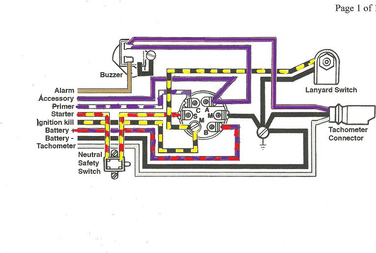 key switch wiring diagrams for lift master 02109 i have a 1993 175 fast stike and need to replace the ignition. i am in need of the wiring ... key switch wiring diagram for 653