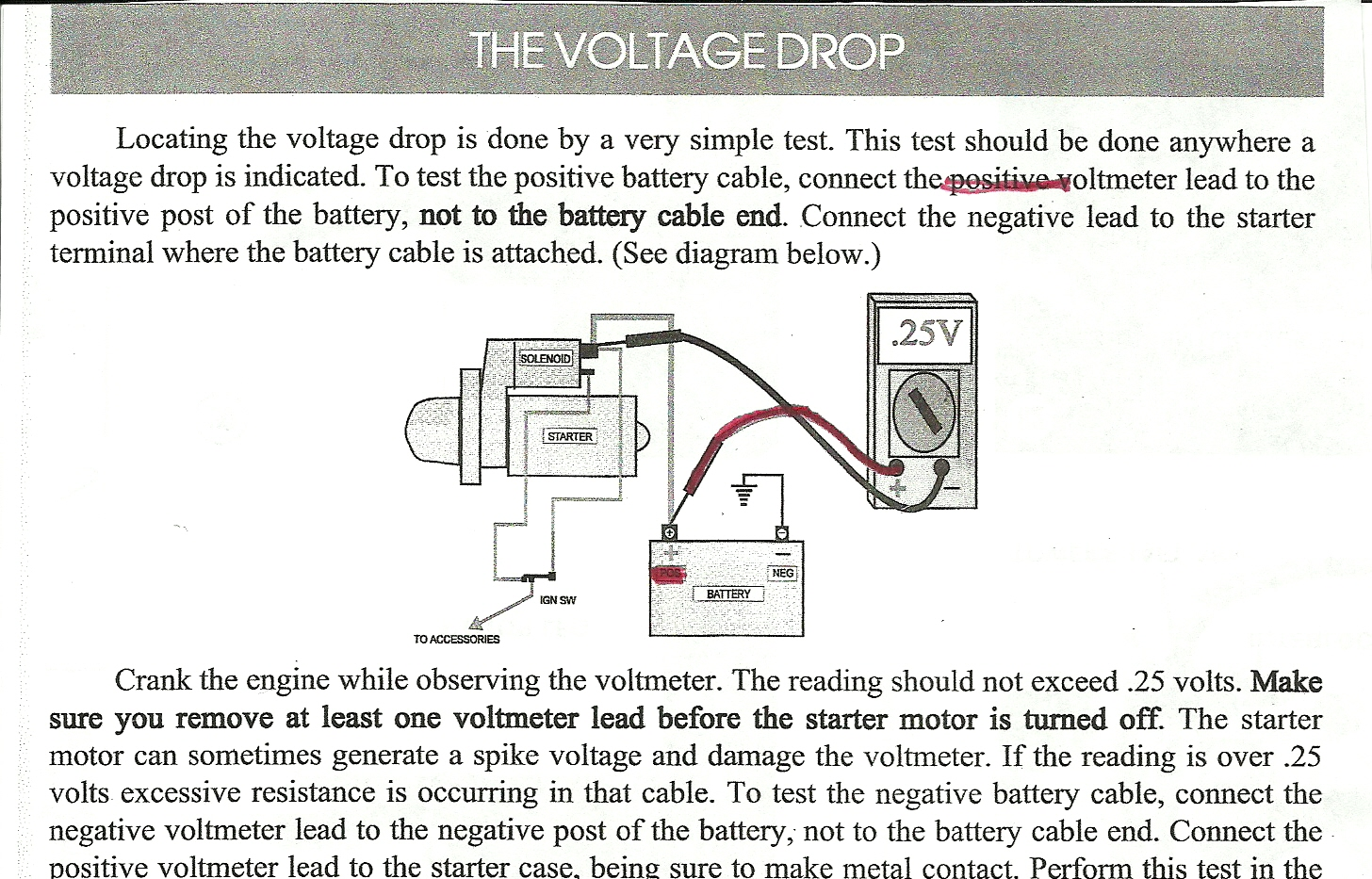 Voltage Drop Tester : Okay your nemesis is back got the stator today taking