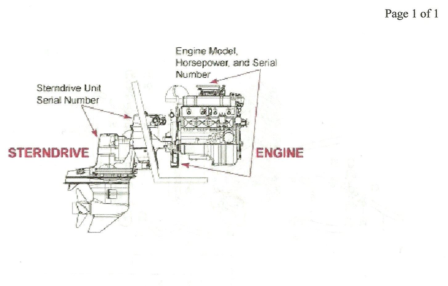 mercruiser 4.3 parts manual
