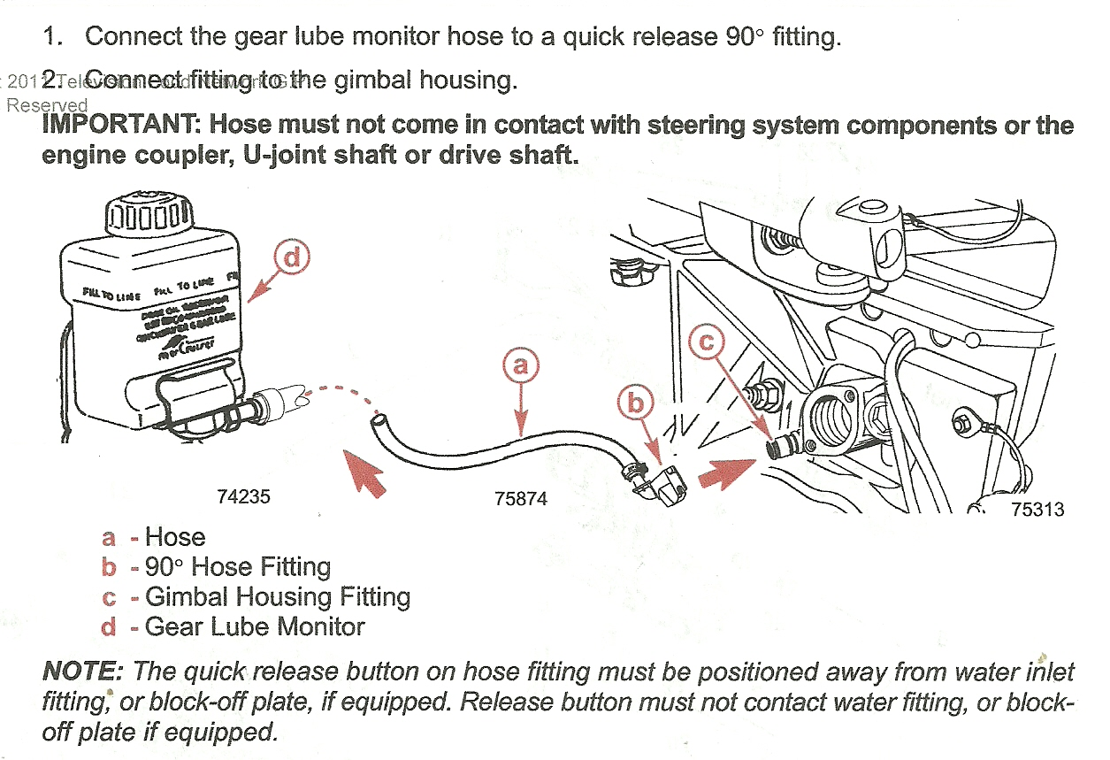 Mercruiser Hoses Diagram Another Blog About Wiring 318899 Loupe Monitor 454 Engine Water Hose Auto 43 57