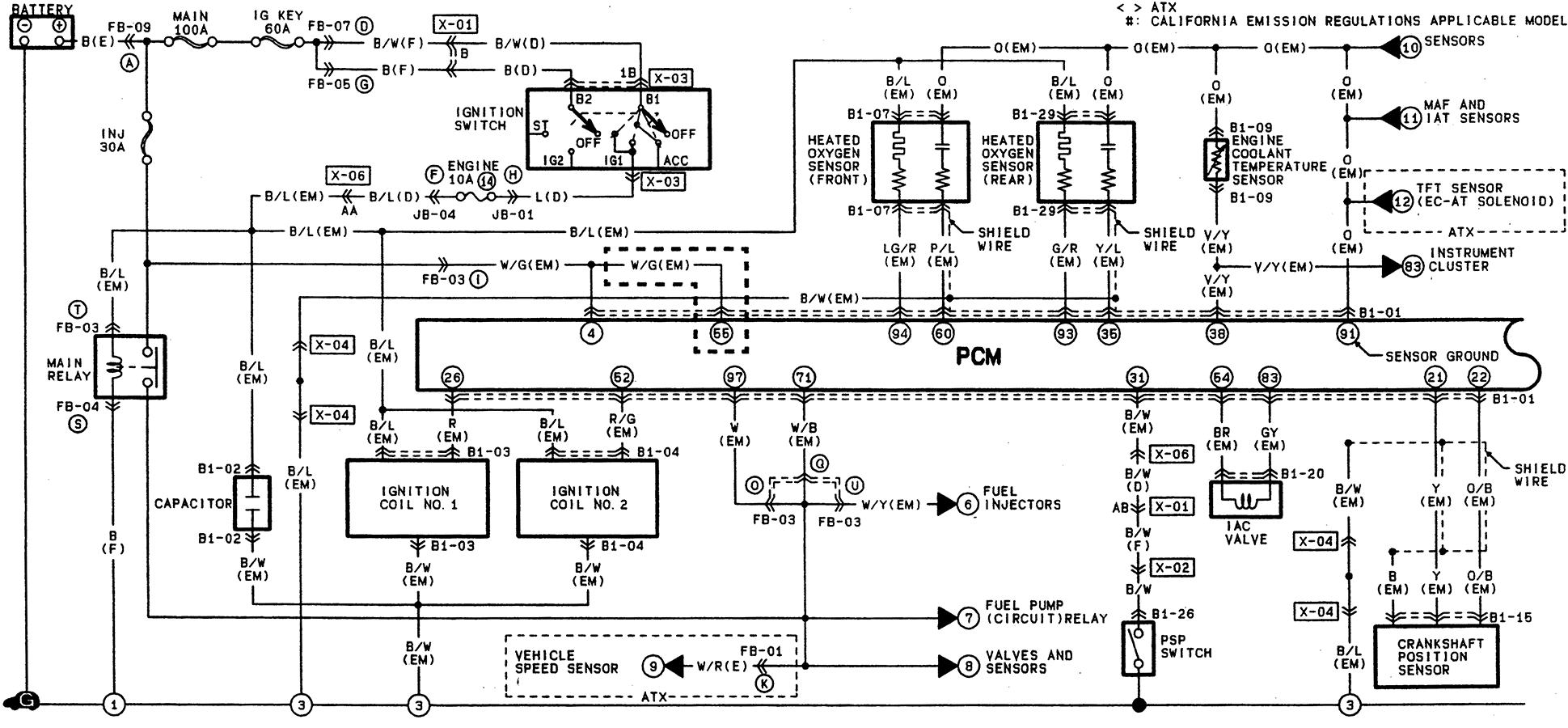 03 mazda sensor diagram 03 get free image about wiring diagram