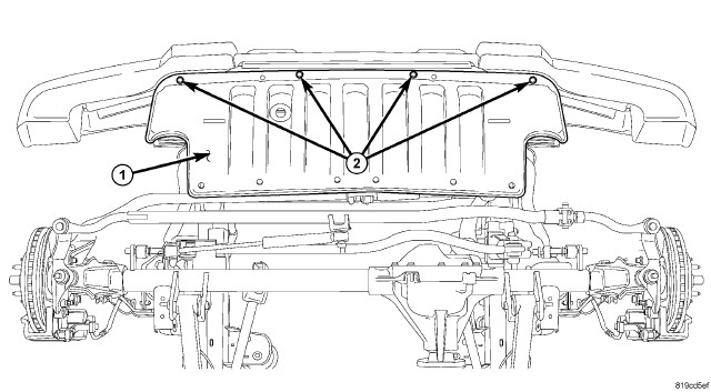 jeep grand cherokee undercarriage diagram