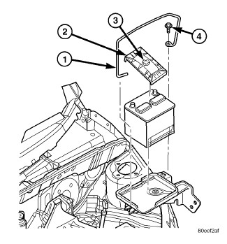 how do i get the battery out of my 2006 pt cruiser. Black Bedroom Furniture Sets. Home Design Ideas