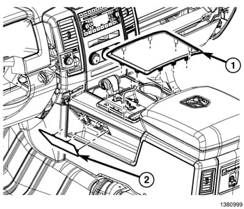 service manual  removing the center console on a 2012