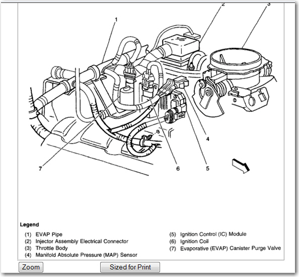 2002 gmc safari fuel pump diagram