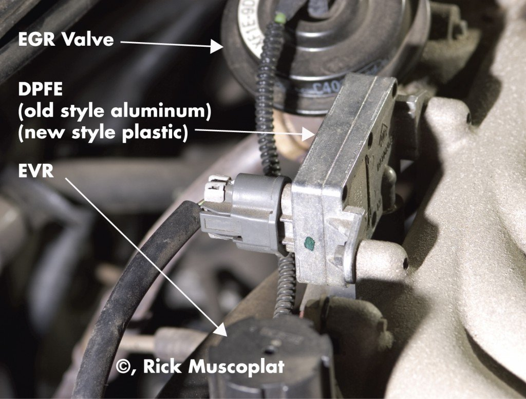 What Is The Location Of Dpfe Sensor On A Lincoln 2001 Town Car Ford Explorer Sport Trac Pcv Valve Full Size Image