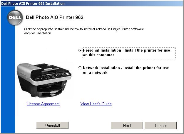 Dell 962 All In One Printer Driver