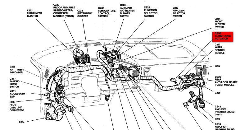 Ford Explorer Heater Hose Diagram Pictures To Pin On