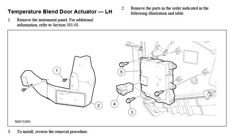 Fix blend door in explorer 2004 autos post for 02 explorer blend door