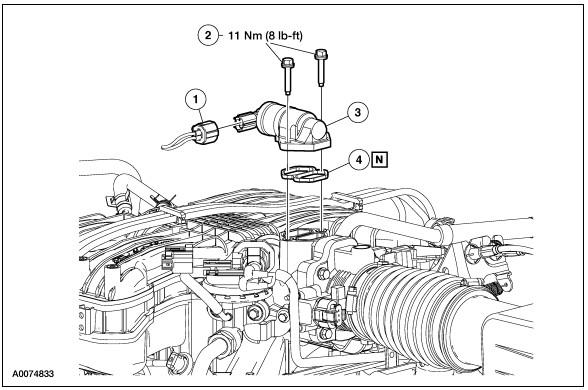 iac location on engine ford freestar