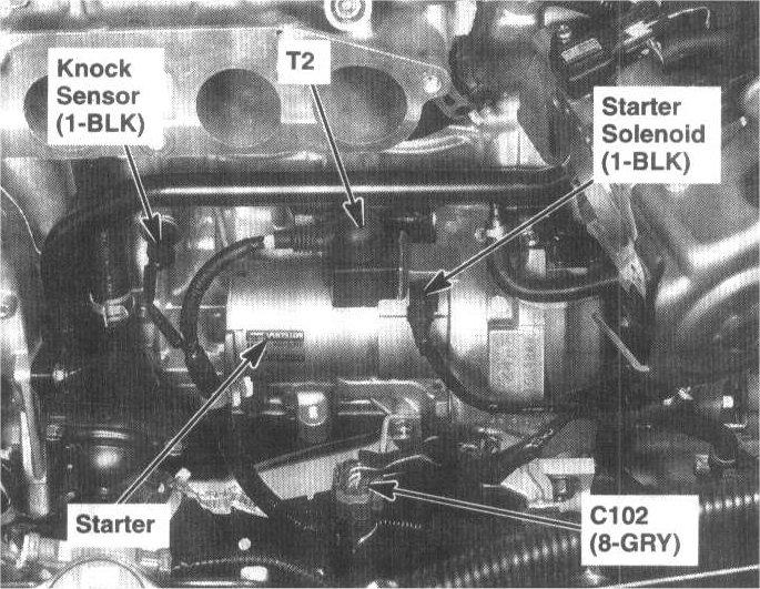 1997 honda accord starter relay location 1993 honda accord