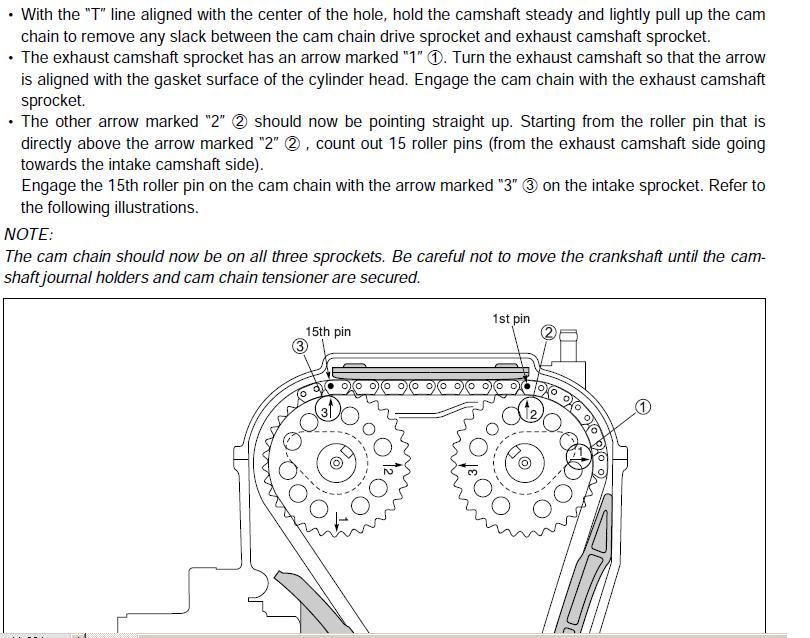 Kawasaki Kfx Timing Marks
