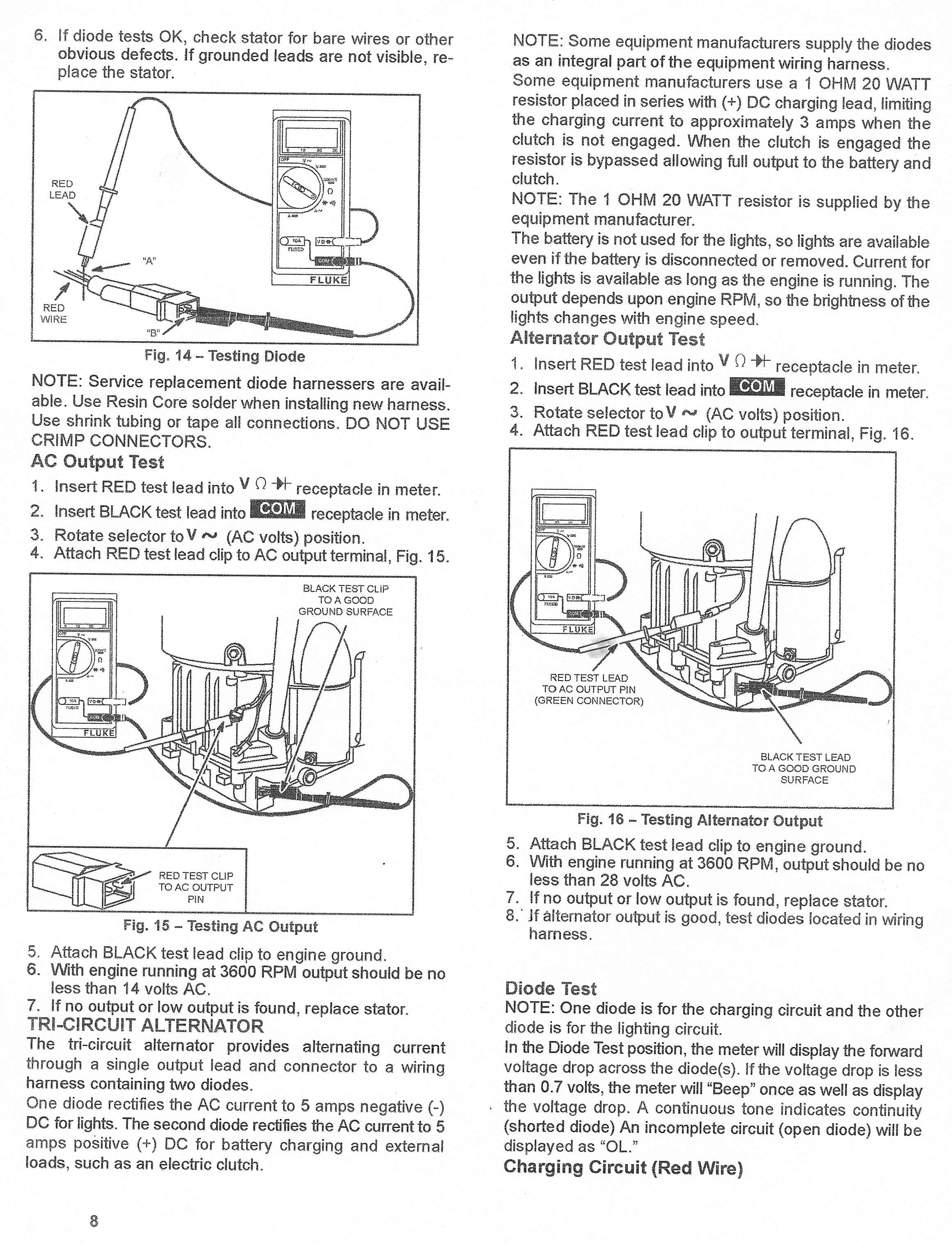 I have a lawn tractor with a 22 hp intek. The battery ...