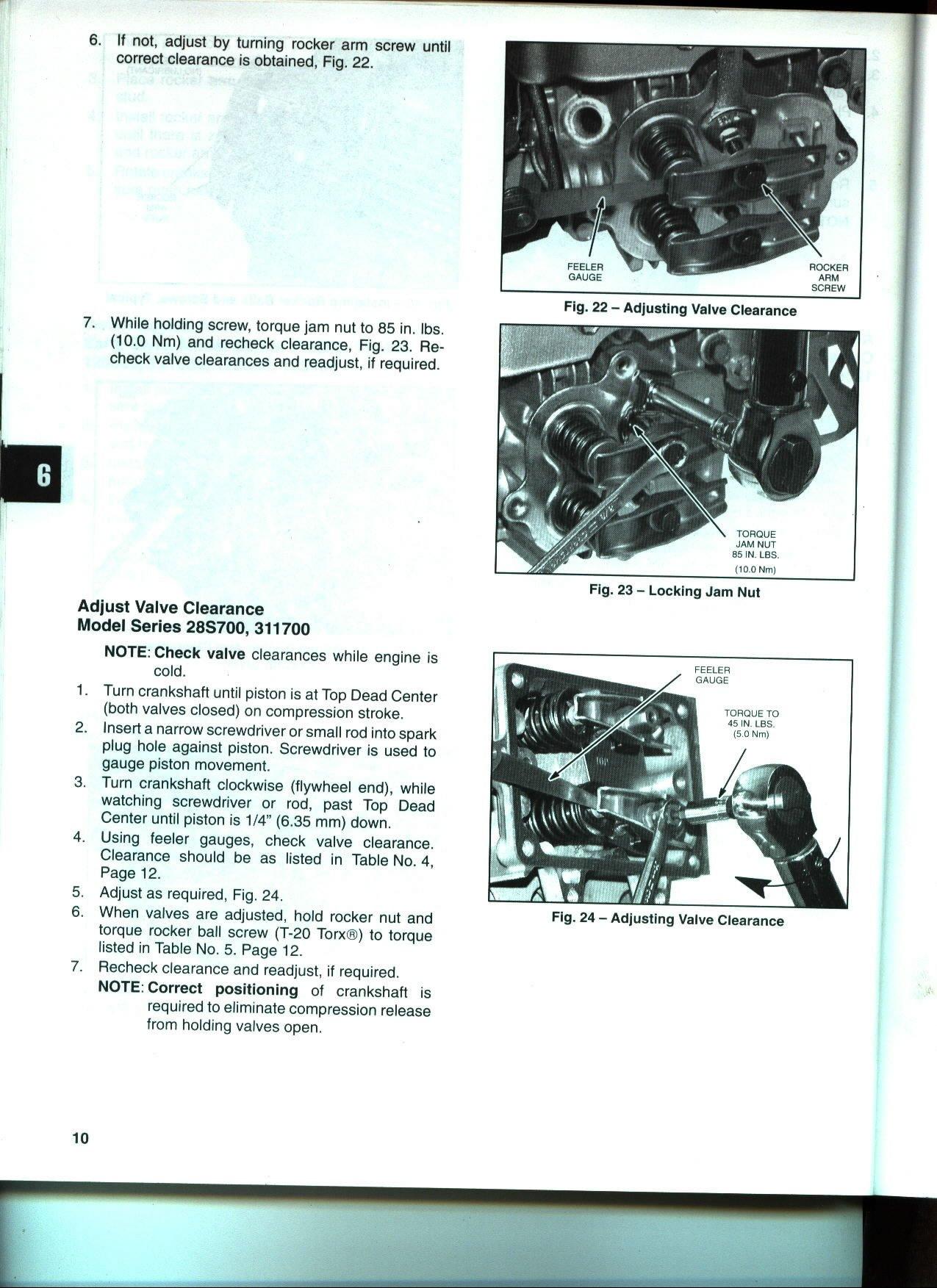 Repair Manuals, Books, & Catalogs - Briggs .