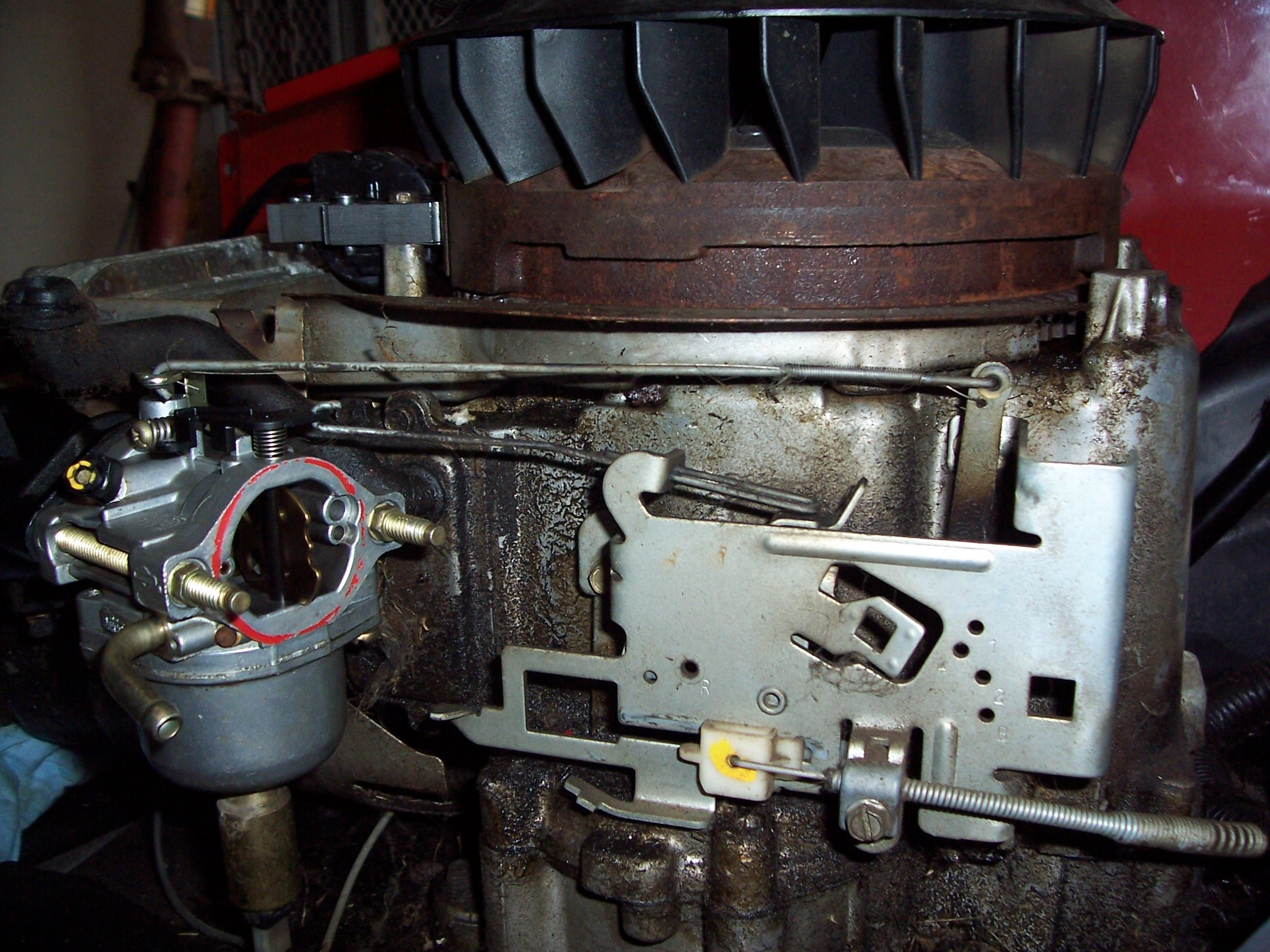 my 17 hp briggs and stratton engine wont stay started