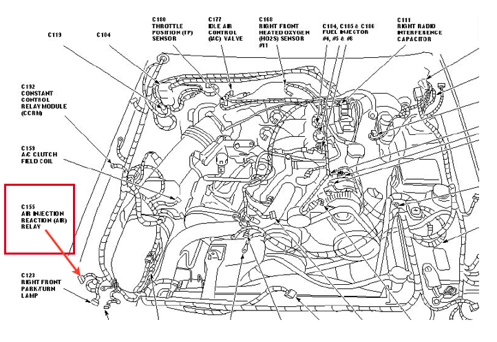 ford mustang engine diagram of 2009  ford  free engine