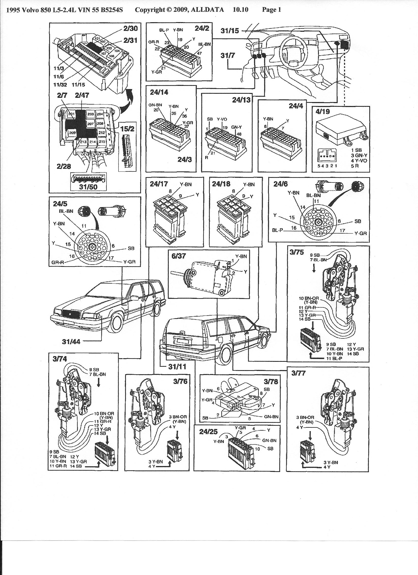 95 Volvo 850 Parts Diagram Wiring Diagrams 1998 S70 Shift Lock Get Free Image About Performance