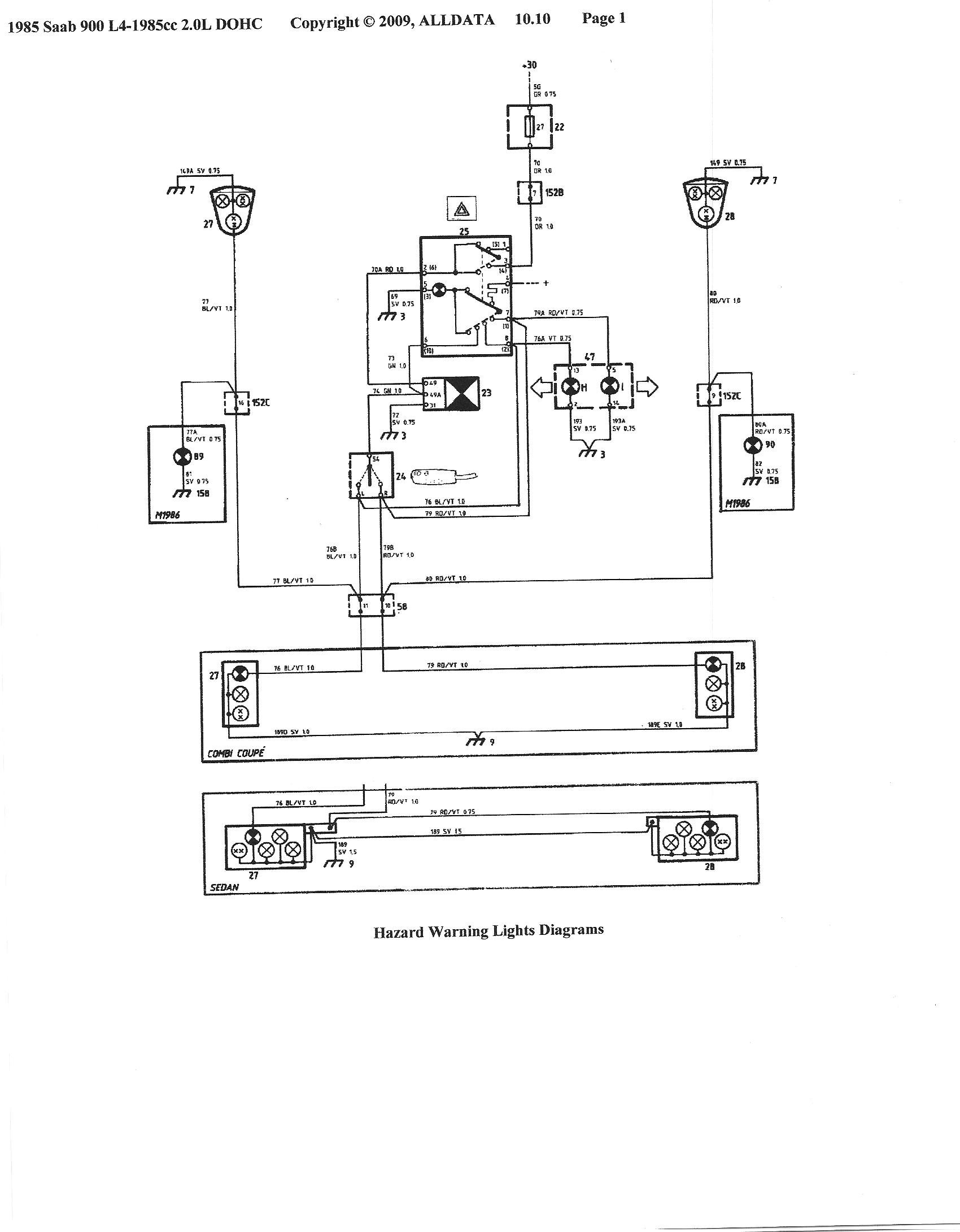 wiring diagram 1986 saab 900 turbo ignition switch saab 900 turbo wiring diagram #13