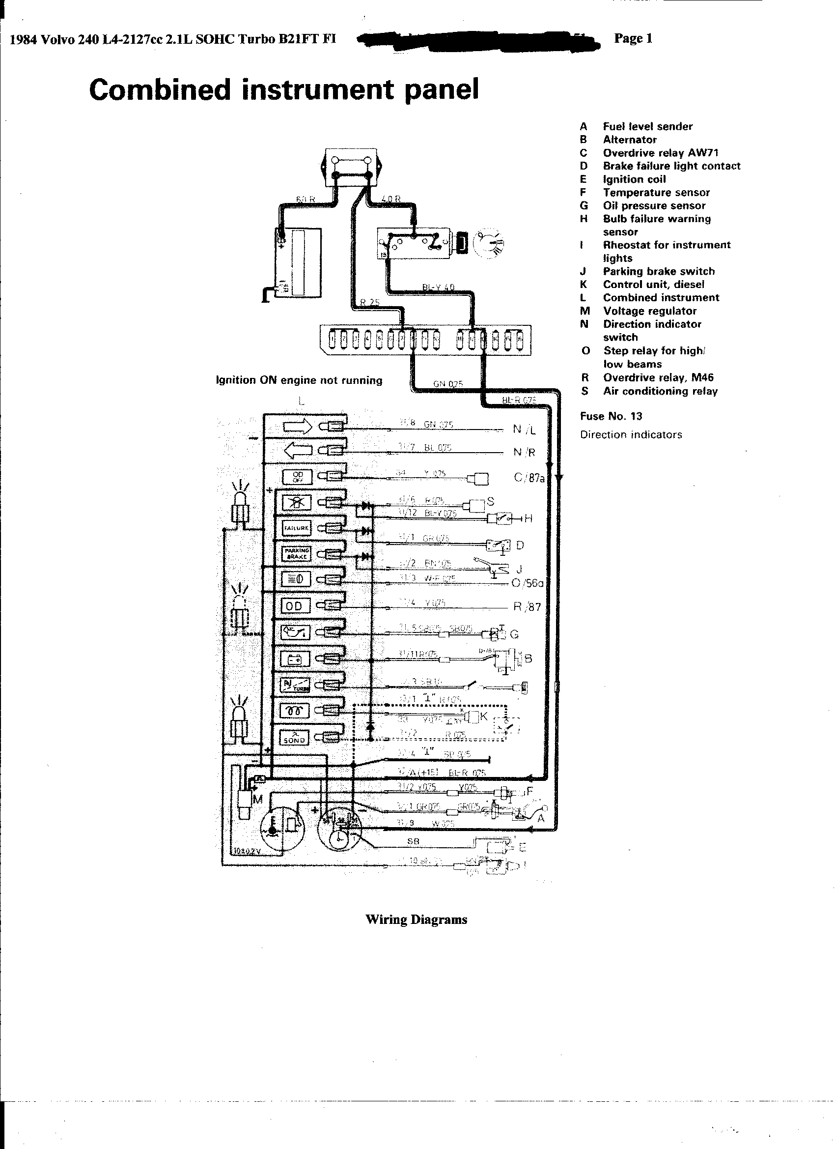 1985 porsche 944 fuse box diagram