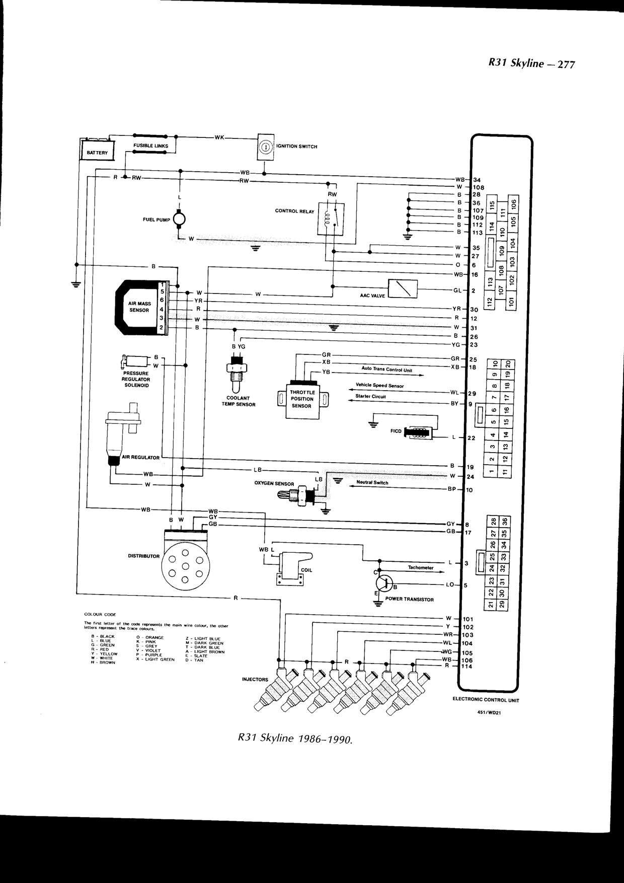 skyline wiring diagram nissan the throttle body plug 3 wires