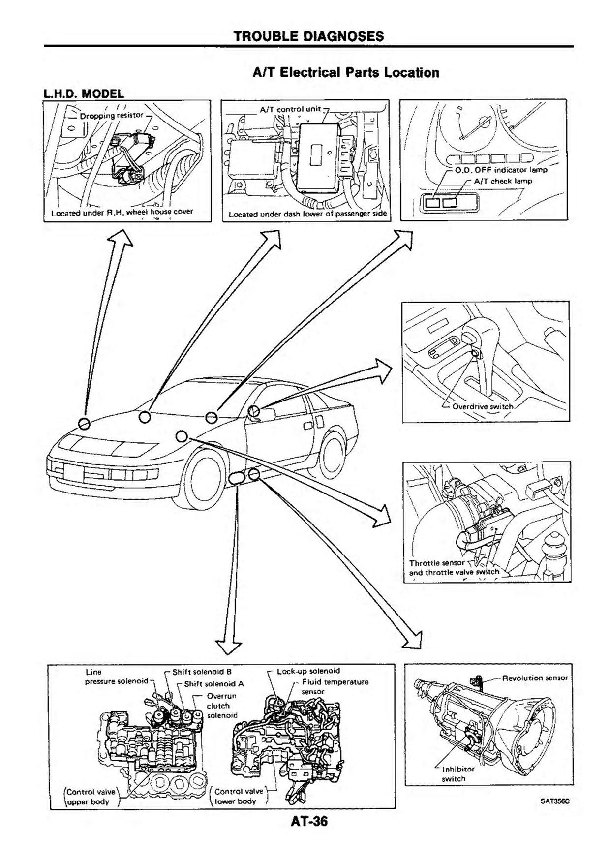 2005 nissan quest automatic transmission diagram
