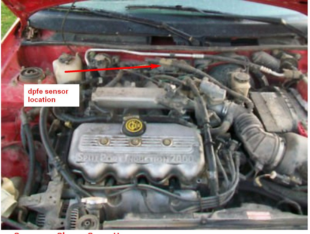 I Have A 98 Ford Escort Station Wagon The Service Engine