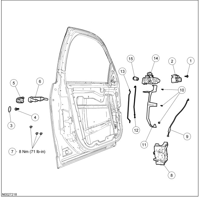 Door handle exterior ford fusion forum - Ford fusion interior door handle replacement ...