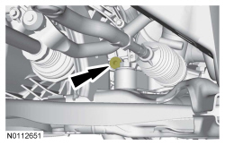 2012 Ford Focus: ramps I can see a drain plug for the transmission